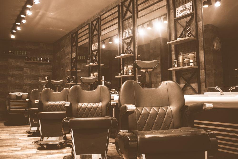 Cousins Barber Shop in Bretten innen