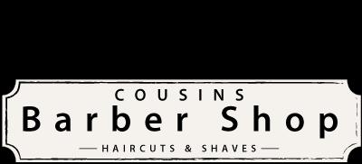 Cousins Barber Shop Logo